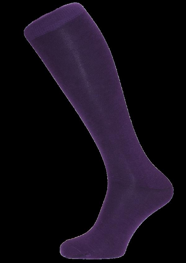 Horizon Men's Dress Socks Long Purple