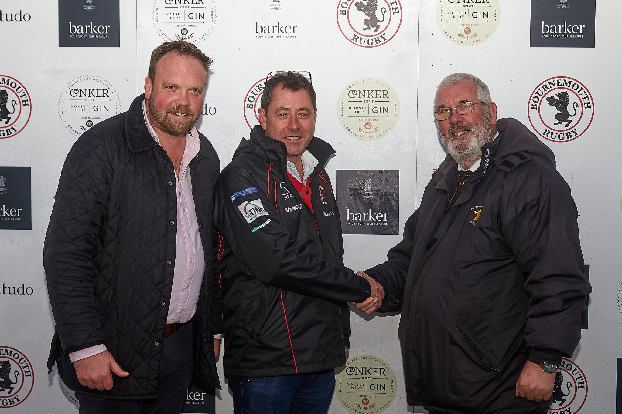 10 year support by Barker for Bournemouth Rugby Club